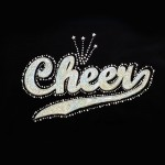 """Big Bling"" CHEER Tee Black - LCT-109"