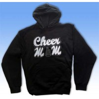 Big Bling  CHEERMOM Hooded Sweatshirt -BBH-103