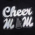 """Big Bling"" CHEER MOM Tee - LCT-112"