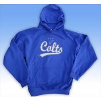 Big Bling  COLTS Hooded Sweatshirt - BBH-112