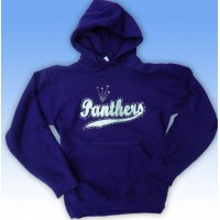 Big Bling PANTHERS Hooded Sweatshirt - BBH-115