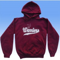 Big Bling WARRIORS  Hooded Sweatshirt - BBH-116