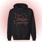 Howard County Terps Hooded Rhinestone Sweatshirt