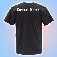 MMYFCL Competition Black T-Shirt with Custom Lettering on Back