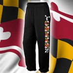 Maryland  Sweatpant- Black