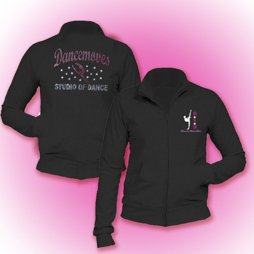 Dancemoves Custom Rhinestone Jacket