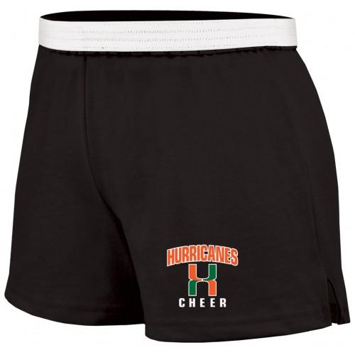 Soffe HURRICANES Cheer Shorts Black