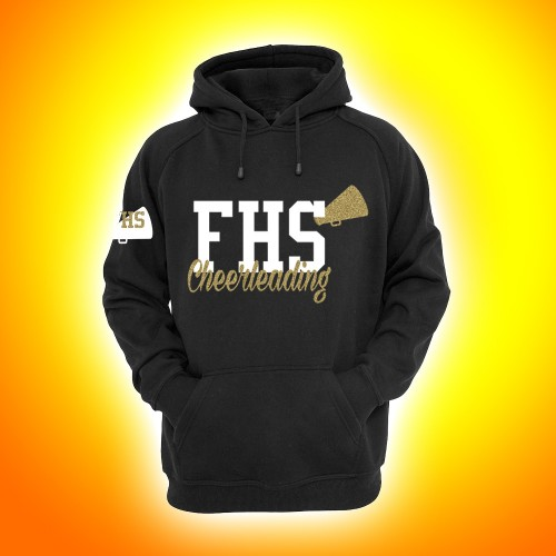 FHS  Hooded Sweatshirt Black