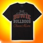 Bowie Bulldogs Cheer Mom  Rhinestone T-Shirt
