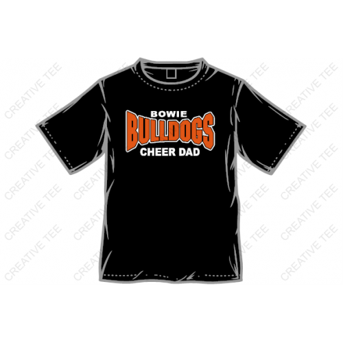 Bowie Bulldogs Dad Tee