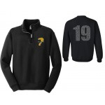 Harford Tech Class of 2019 Unisex Quarter Zip Pullover with back names