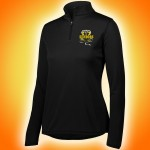 Harford Tech Class of 2018 Ladies black quarter zip pullover