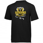 Harford Tech Class of 2018 Mens black performance tee