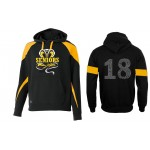 Harford Tech Class of 2018 premium black and gold fleece with Class Names on Back