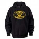 Harford Tech Athletics COBRA Hooded Black Sweatshirt