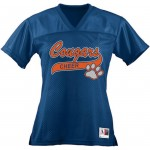 Fallston Cougars Cheerleading Jersey with GLITTER