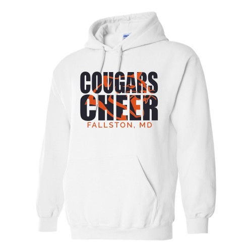 Cougars Practice Hooded sweatshirt  (White)
