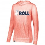 "Cougar's "" This is how we Roll"" Ladies Performance Hoody ( light weight )"