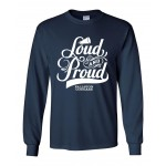 Cougars Loud and Proud Long Sleeve orange