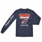 Cougars Practice Long Sleeve Tee with glitter