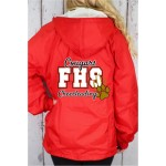 FHS  Warm Up Jacket ( Price includes embroidered name) * Please see size chart