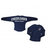 Cougars Billboard Navy Long Sleeve