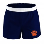 Soffe Navy Cheer short with Paw