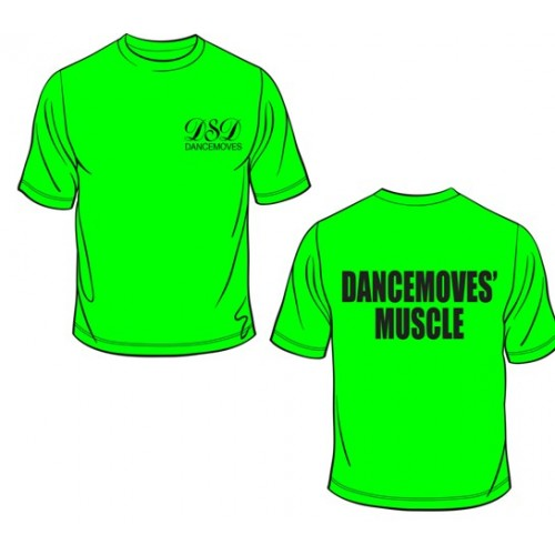 Dancemoves Dad Shirt Lime