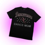 Dancemoves DANCE MOM Custom Rhinestone T-shirt - Design 2