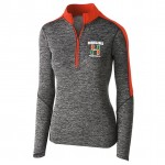 Hurricanes Football Ladies 1/4 zip with embroidered logo