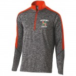Hurricanes Mens CHEER 1/4 zip with embroidered logo