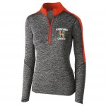 Hurricanes Football Ladies CHEER 1/4 zip with embroidered logo
