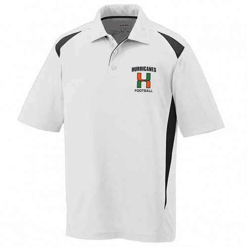 Elkridge Football Mens Polo shirt white