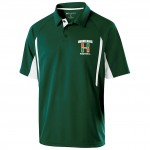 Elkridge Football Mens Polo shirt dark green