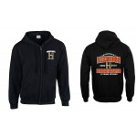 Elkridge Hurricanes Anniversary FULL  ZIP Hooded sweatshirt