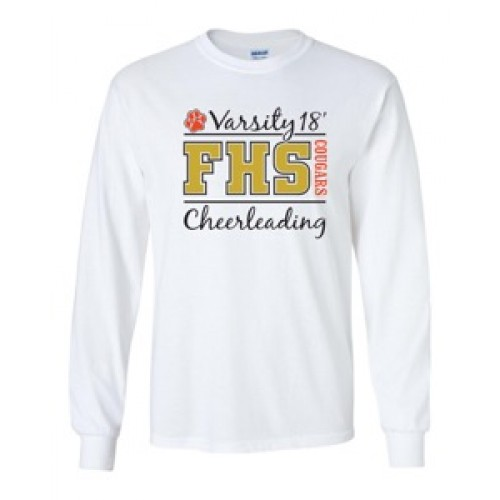 FHS PRACTICE  Long Sleeve Tee  2018 White