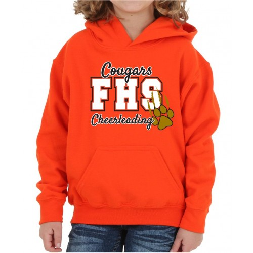 FHS  Practice Hooded Sweatshirt orange