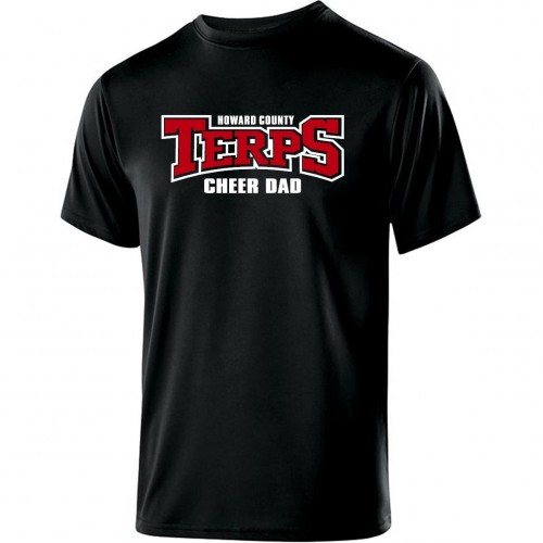 Howard County Terps Cheer Dad Performance Tee