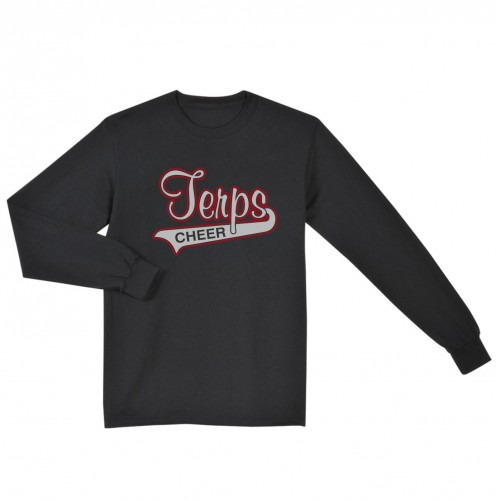 Howard County Terps Coaches Long sleeve shirt