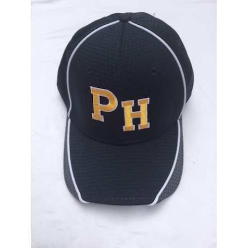 Perry Hall New Era PH logo Ball Cap ( Navy/Gray) - Flex Fit