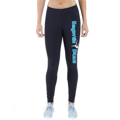 Kingsville Dance legging black/blue