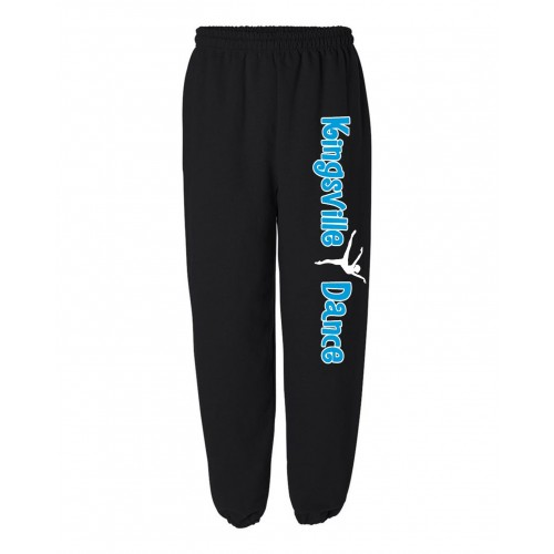 Kingsville Sweatpant black/blue