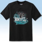 MMYFCL Custom Competition t-shirt 2 Black and teal blue
