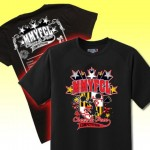 MMYFCL Competition MD print Black T-Shirt with team names on back