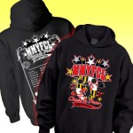 MMYFCL Black MD Competition Hooded Sweatshirt with Team names on back