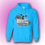 MMYFCL Blue Competition Hooded Sweatshirt ( team names on back)