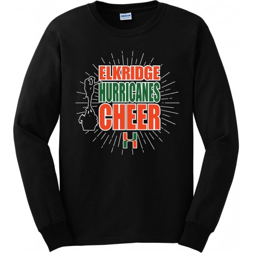 Elkridge Hurricanes Stunt group Long Sleeve Tee
