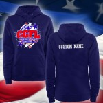 SALE CCFL 2015 Cheer & Pom Competition hooded sweatshirt with custom name