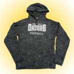 Perry Hall Complex Hoody Gray with reflective silver.
