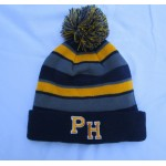 Perry Hall Pom Pom PH Logo Beanie